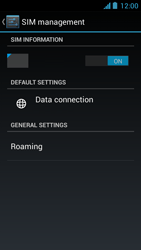 Acer Liquid Z5 - Internet - Enable or disable - Step 5