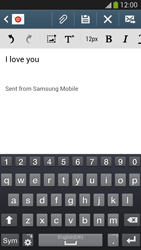 Samsung I9295 Galaxy S IV Active - Email - Sending an email message - Step 10