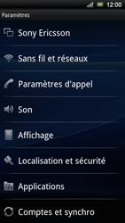 Sony Ericsson Xperia Ray - Wifi - configuration manuelle - Étape 3