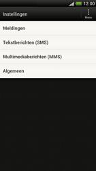 HTC Z520e One S - SMS - handmatig instellen - Stap 4