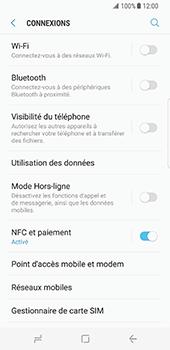 Samsung Galaxy S8 - Réseau - Utilisation à l
