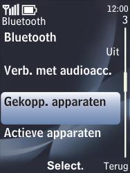 Nokia 6700 classic - Bluetooth - koppelen met ander apparaat - Stap 8