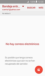 Samsung Galaxy J1 (2016) (J120) - E-mail - Configurar Yahoo! - Paso 7