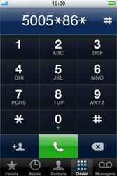 Apple iPhone 4 S - Messagerie vocale - configuration manuelle - Étape 7