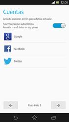 Sony Xperia Z - Primeros pasos - Activar el equipo - Paso 19