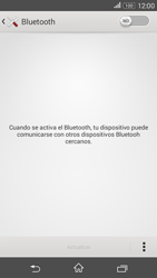 Sony Xperia E4g - Bluetooth - Conectar dispositivos a través de Bluetooth - Paso 5