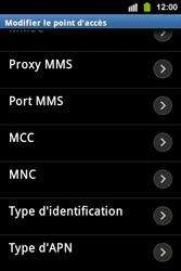 Samsung S5830i Galaxy Ace i - Mms - Configuration manuelle - Étape 14