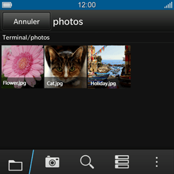 BlackBerry Q10 - Contact, Appels, SMS/MMS - Envoyer un MMS - Étape 11