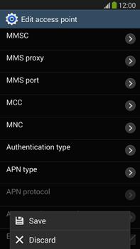 Samsung N9005 Galaxy Note III LTE - Internet - Manual configuration - Step 15