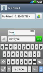 LG P970 Optimus Black - Mms - Sending a picture message - Step 7