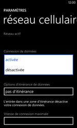 Nokia Lumia 625 - Internet - activer ou désactiver - Étape 6