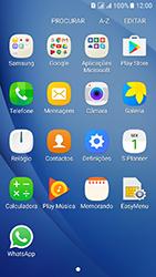 Samsung Galaxy J5 (2016) DualSim (J510) - Aplicações - Como configurar o WhatsApp -  4