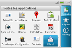 HTC A810e ChaCha - E-mail - envoyer un e-mail - Étape 2