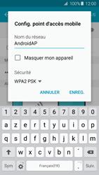 Samsung Galaxy A3 - A5 (2016) - Internet et connexion - Partager votre connexion en Wi-Fi - Étape 8