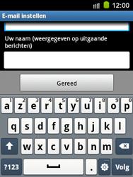 Samsung S5570 Galaxy Mini - E-mail - e-mail instellen: IMAP (aanbevolen) - Stap 19