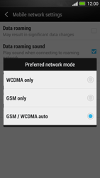 HTC One - Network - Change networkmode - Step 7