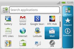 HTC A810e ChaCha - E-mail - Manual configuration - Step 3