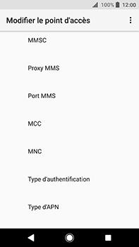 Sony Xperia XA2 Ultra - MMS - Configuration manuelle - Étape 11