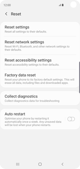 Samsung Galaxy S10 - Device - Factory reset - Step 7