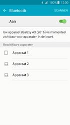 Samsung Galaxy A3 2016 (SM-A310F) - Bluetooth - Headset, carkit verbinding - Stap 6
