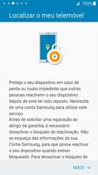 Samsung Galaxy S6 Edge - Primeiros passos - Como ligar o telemóvel pela primeira vez -  18