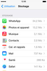 Apple iPhone 4S (iOS 8) - Applications - Supprimer une application - Étape 6