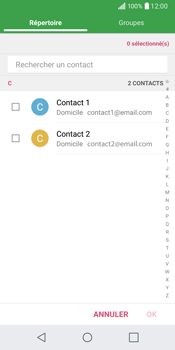 LG Q6 - E-mail - Envoi d
