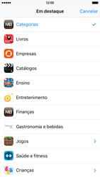 Apple iPhone 6 iOS 9 - Aplicações - Como pesquisar e instalar aplicações -  4