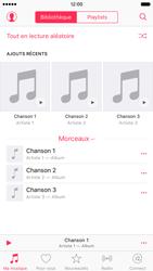 Apple iPhone 6s - Photos, vidéos, musique - Ecouter de la musique - Étape 5
