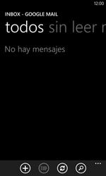 Nokia Lumia 520 - E-mail - Escribir y enviar un correo electrónico - Paso 14