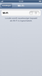 Apple iPhone 5 - WiFi - Handmatig instellen - Stap 4
