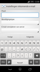 Sony D2203 Xperia E3 - E-mail - Handmatig instellen - Stap 10