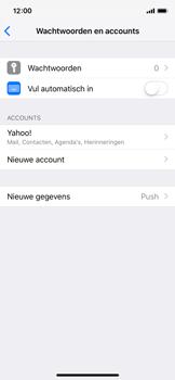Apple iPhone X - iOS 12 - E-mail - handmatig instellen (yahoo) - Stap 9