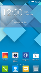 Alcatel OT-7041X Pop C7 - E-mail - Configuration manuelle - Étape 1