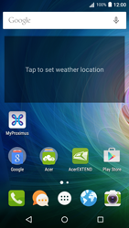Acer Liquid Z530 - WiFi and Bluetooth - Setup Bluetooth Pairing - Step 1
