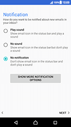 Sony Xperia XZ (F8331) - Android Nougat - E-mail - Manual configuration (yahoo) - Step 11