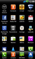 LG P990 Optimus 2X Speed - Messagerie vocale - configuration manuelle - Étape 4