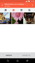 HTC One M8s - MMS - envoi d'images - Étape 15
