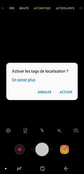 Samsung Galaxy J6 - Photos, vidéos, musique - Créer une vidéo - Étape 5