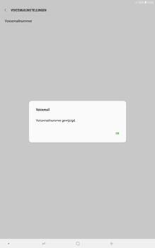Samsung galaxy-tab-a-10-5-sm-t595 - Voicemail - Handmatig instellen - Stap 9