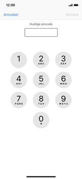 Apple iphone-xs-model-A1920 - Beveiliging en ouderlijk toezicht - Hoe wijzig ik mijn SIM PIN-code - Stap 6
