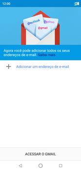 Motorola One - Email - Como configurar seu celular para receber e enviar e-mails - Etapa 5