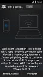Bouygues Telecom Ultym 5 II - Internet et connexion - Partager votre connexion en Wi-Fi - Étape 7