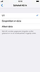 Apple iPhone 5s - iOS 12 - Netwerk - Wijzig netwerkmodus - Stap 7