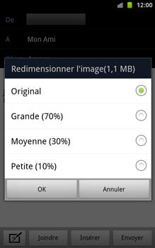Samsung N7000 Galaxy Note - E-mail - envoyer un e-mail - Étape 10