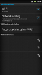 Sony LT26i Xperia S - Wifi - handmatig instellen - Stap 7