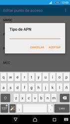 Sony Xperia M5 (E5603) - Mensajería - Configurar el equipo para mensajes multimedia - Paso 13