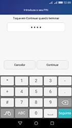 Huawei Y6 - Segurança - Como ativar o código de bloqueio do ecrã -  7