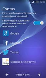 Sony Xperia E1 - Primeiros passos - Como ligar o telemóvel pela primeira vez -  8