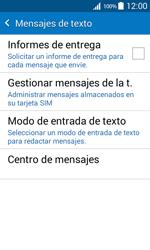 Samsung Galaxy Core Prime - Mensajería - Configurar el equipo para mensajes de texto - Paso 7